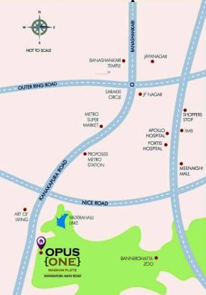 Concorde Opus One Location Plan