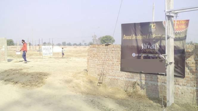 Deswal Shivalik Springs Apartments Construction Status
