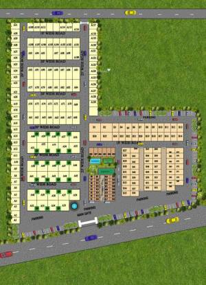 Deswal Shivalik Springs Apartments Layout Plan