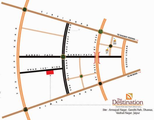 SDC The Destination Location Plan
