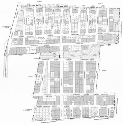 Supertech Sports City Villas Layout Plan