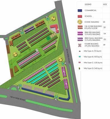Supertech Sports City Villas Site Plan