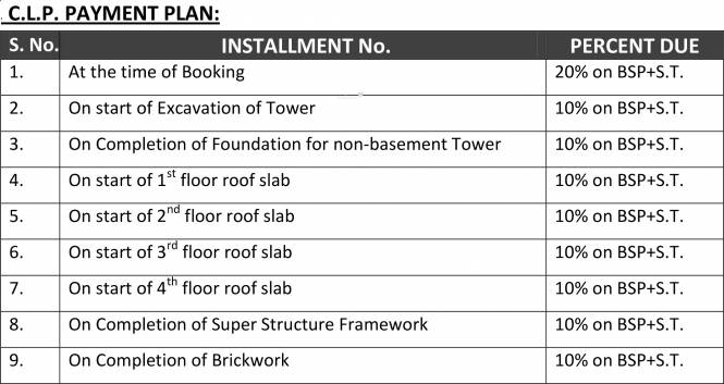 Polaars Royal Enclave Payment Plan