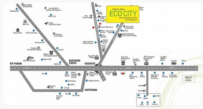 Peram ECO City Location Plan