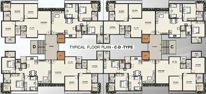 Vaishnodevi Heights Cluster Plan