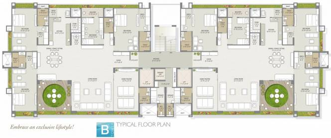 Western Water Hills Residency Cluster Plan