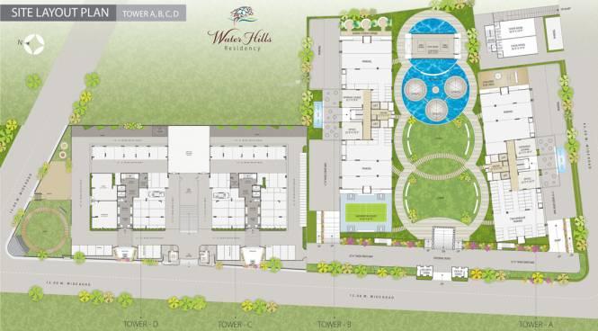 Western Water Hills Residency Site Plan