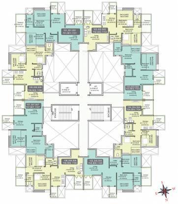 Aksha Vrundavan Cluster Plan