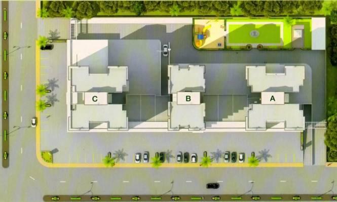 Navkar Bhagya Ratna Heights Layout Plan