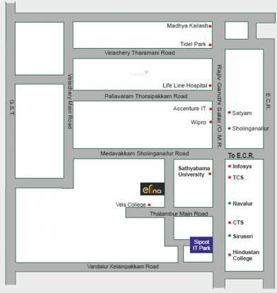 Aries Elina Location Plan
