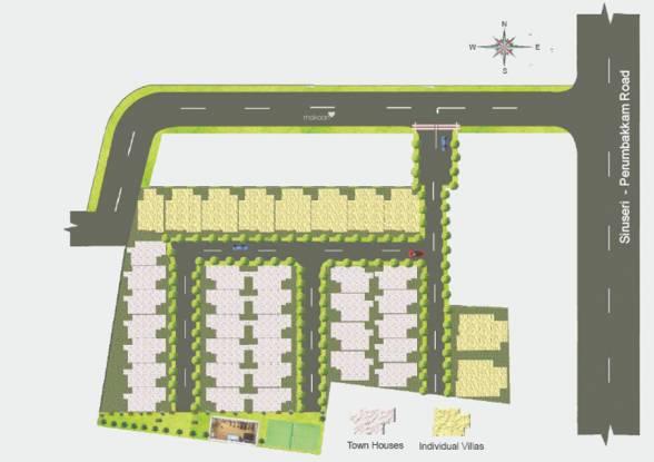 Aries Elina Site Plan
