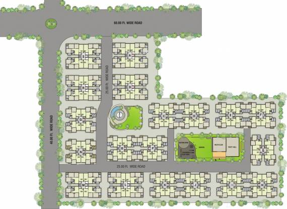 Rajhans Apple Site Plan