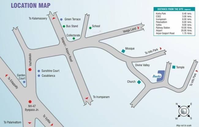 ABAD Bluechip Location Plan