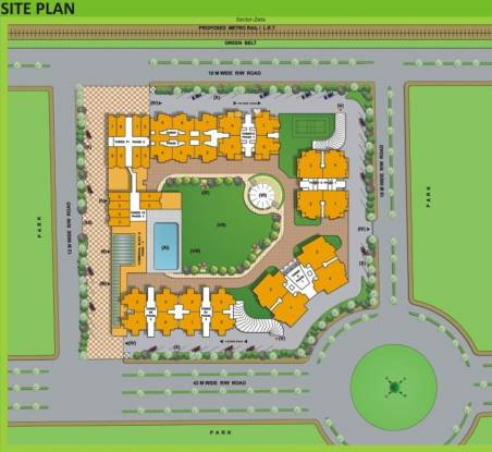 Designarch E Homes Site Plan