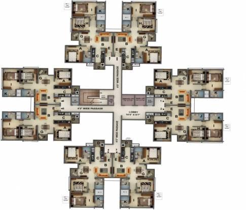 Mantri Energia Cluster Plan