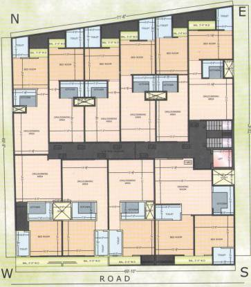 Sarthak Homes Cluster Plan
