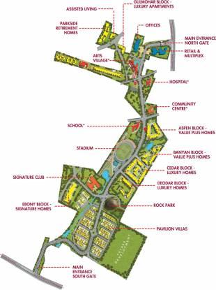 Brigade Cedar Layout Plan
