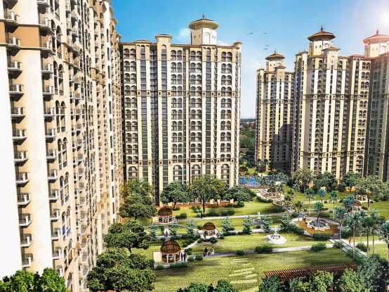 DLF Capital Greens Phase 1 And 2 Elevation
