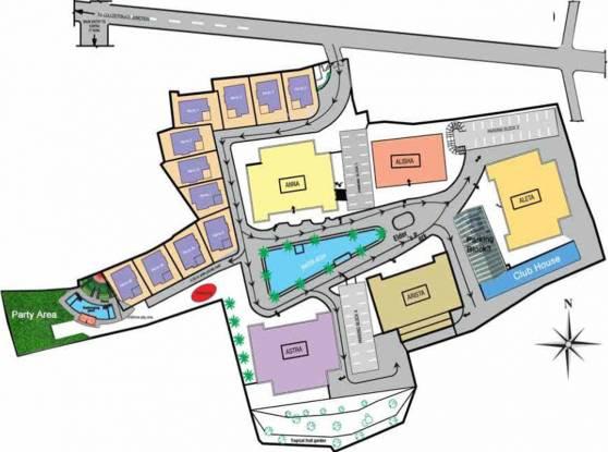 Olive Kalista Villas Site Plan