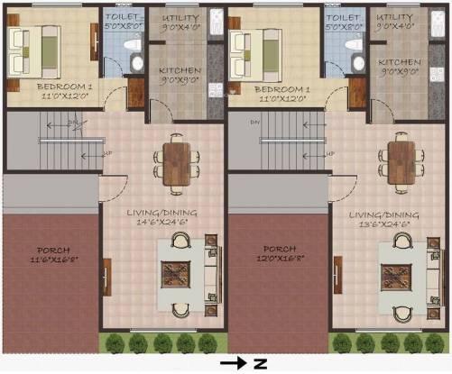 Sumanth Sreshta Swaminathan Nagar Villa Cluster Plan