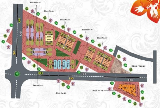 Regal Town Layout Plan