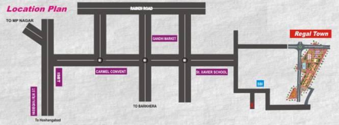 Regal Town Location Plan
