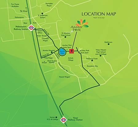 Anchor Park Location Plan