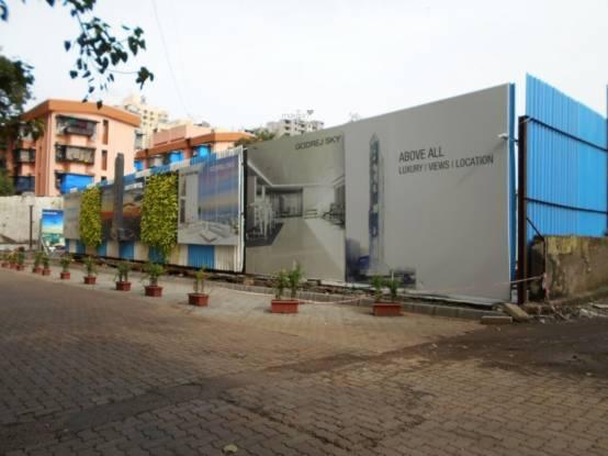 R R Builders Godrej Sky Construction Status