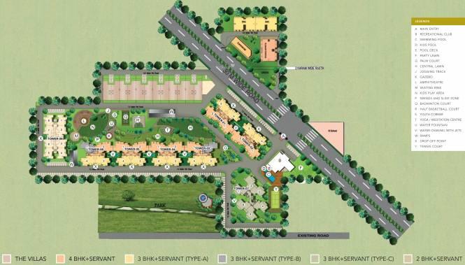Satya The Villas Master Plan