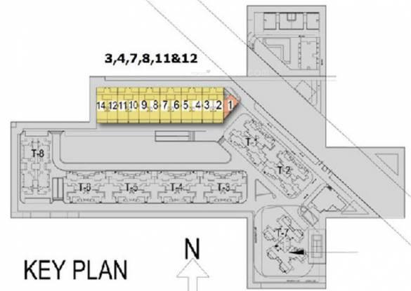 Satya The Villas Site Plan