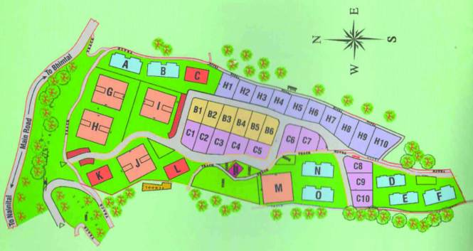 Shikhar Shikar Heights Villa Site Plan