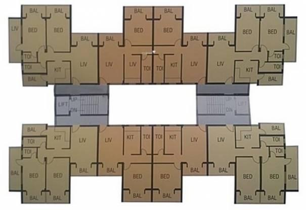 Kharangate Rose Valley Cluster Plan