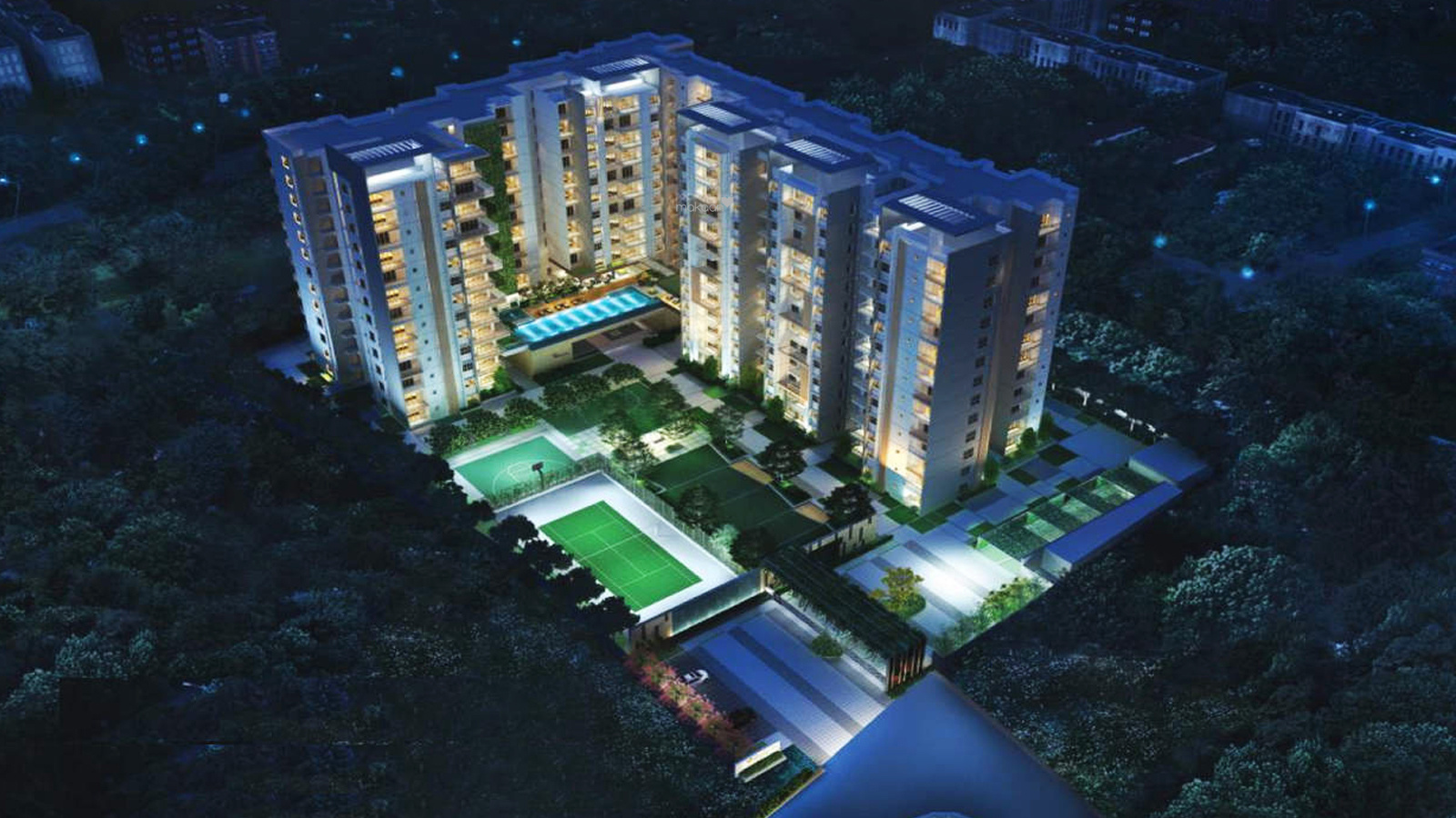 1995 sq ft 3BHK 3BHK+3T (1,995 sq ft) Property By Proptiger In Reflection, Bellandur