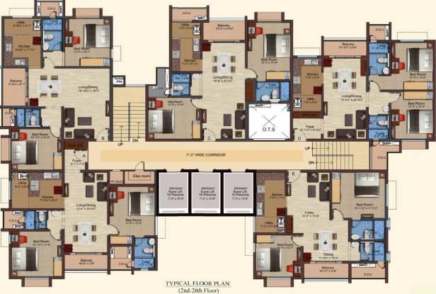 Baashyaam Pinnacle Crest Cluster Plan