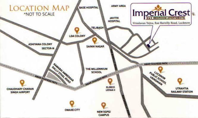 Gandharva Imperial Crest Location Plan