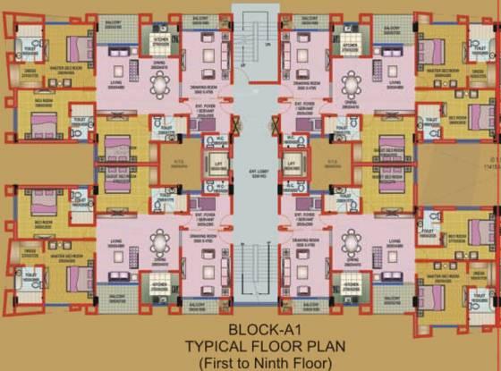Amazing V3 Residency Cluster Plan