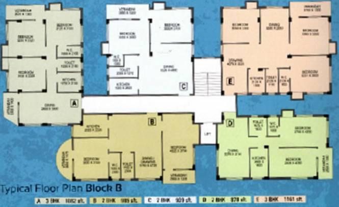 Northland Anandoloke Kunjaban Cluster Plan