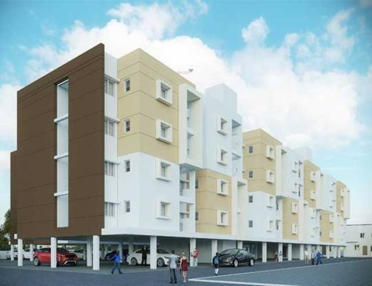 Shriram Shreshta Apartments Elevation