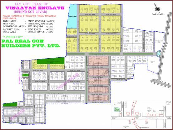 Pal Vinaayak Enclave Layout Plan
