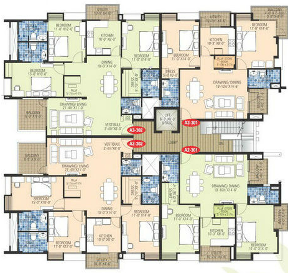 Delightful Walk Up Apartment Floor Plans #8: ... Floor Plans For Flats Lovely Walk Up Apartment Floor Plans 3 Ashadeep  Gulmohar Walkup ...