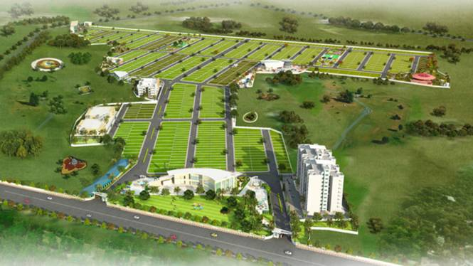 Swaraaj Green City Layout Plan