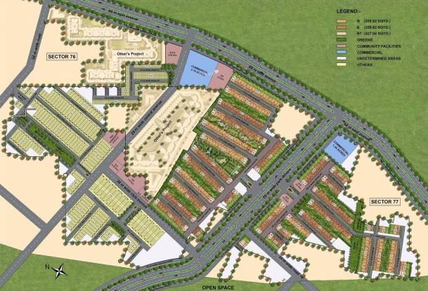 DLF Privana Site Plan