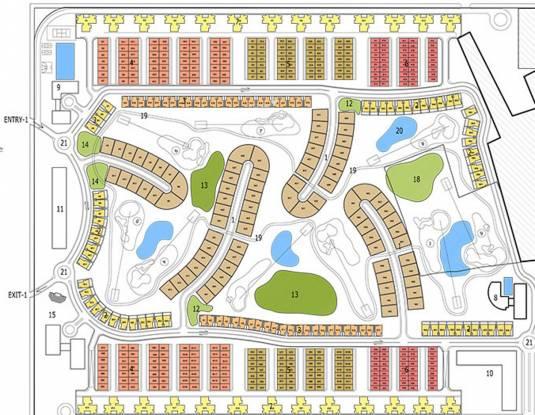 Hemisphere Golf Villas Master Plan