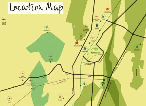 Runwal Bliss Location Plan