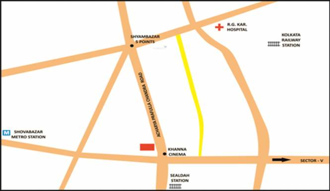 Liberty Uttam Plaza Location Plan