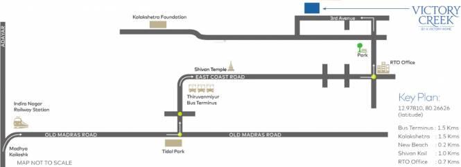 Victory Creek Location Plan