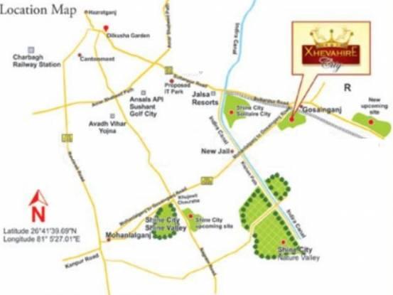 Shine Xhevahire City Location Plan