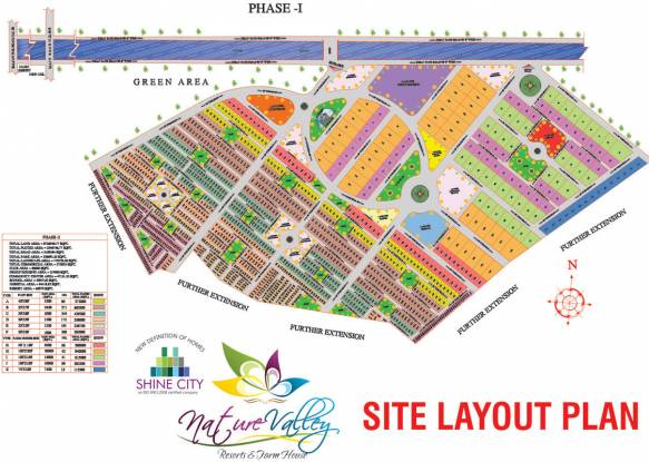 Shine Nature Valley Layout Plan