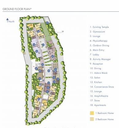 Brigade Orchards Parkside Layout Plan