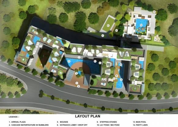 Spenta Alta Vista Layout Plan
